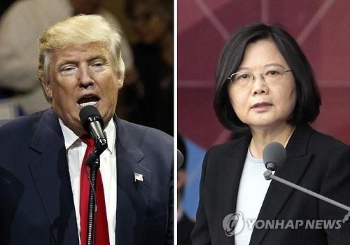 """中정부, 트럼프·차이잉원 통화에 """"엄중 항의"""" 강력 반발"""