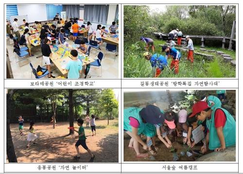 자연관찰부터 캠프까지…서울 21개 공원서 117개 여름프로그램