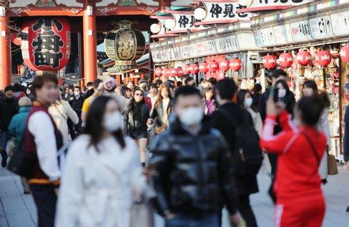 새해 들어서도 방일 한국인 급감세 지속…올 1월 59.4%↓