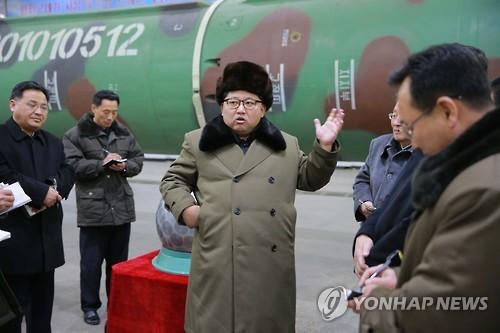 [단독] 'ICBM 발사' 김정은 명령만 남았다…신형 발사체 포착
