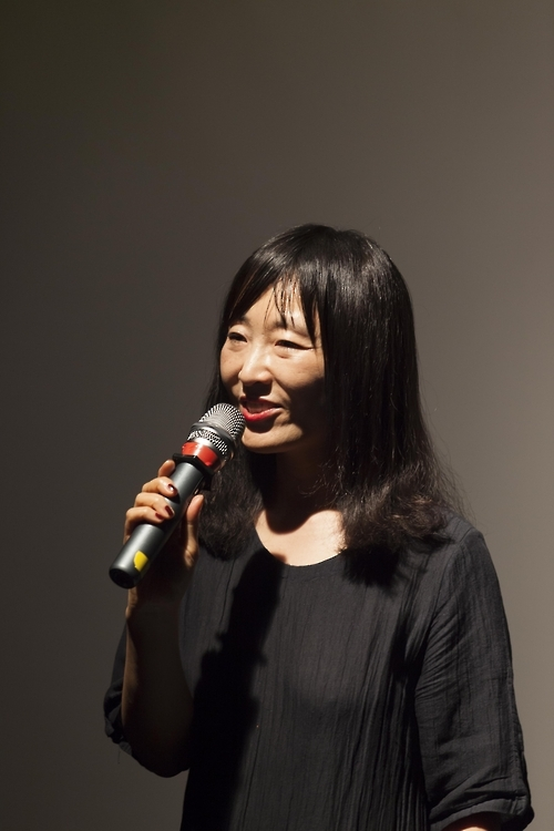 This photo, provided by the Literature Translation Institute of Korea, shows South Korean novelist Bae Su-ah. (Yonhap)