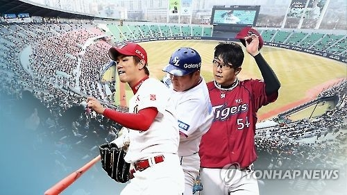 From left: Kim Kwang-hyun of the SK Wyverns, Choi Hyoung-woo of the Samsung Lions and Yang Hyeon-jong of the Kia Tigers are among 18 players eligible for free agency in the Korea Baseball Organization. (Yonhap)