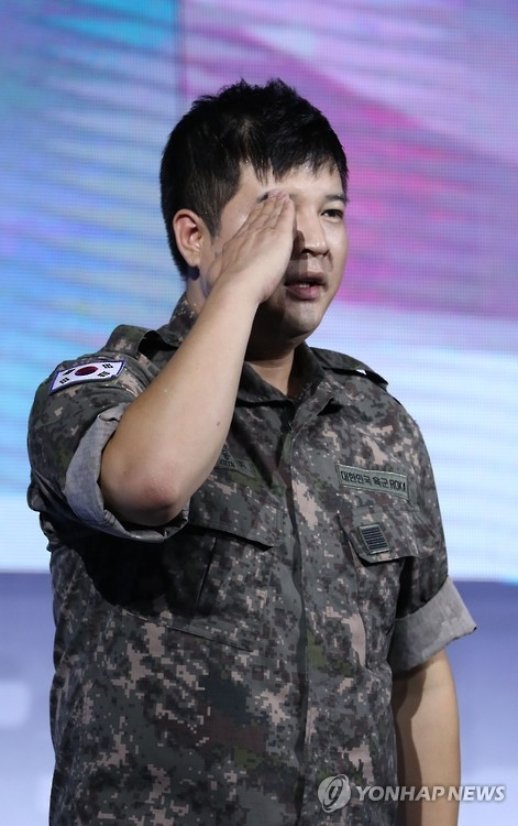 Shindong of South Korean boy band Super Junior (Yonhap)