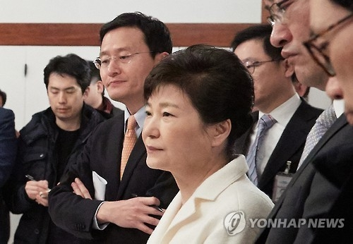 Opposition parties condemn Park's denial of scandal