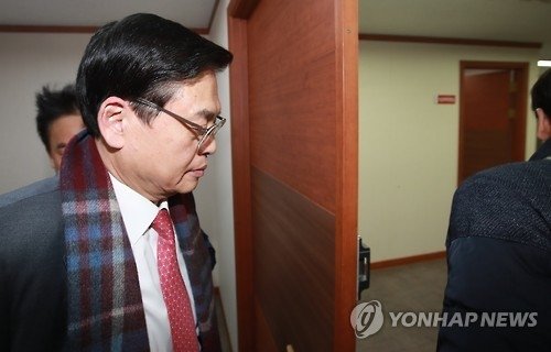 Rep. Chung Woo-taik, the floor leader of the ruling Saenuri Party (Yonhap)