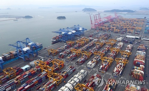 (2nd LD) S. Korea's exports jump 13.7 pct in March - 1