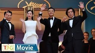 'Burning' director and cast hit Cannes red carpet - 2