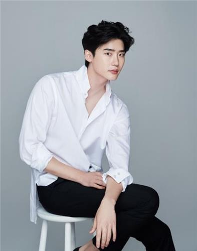 The photo provided by A-MAN Project is of actor Lee Jong-suk. (Yonhap)