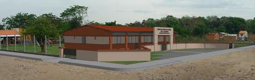 A rendering of KOICA's first health center in Limpio, Paraguay. (Courtesy of KOICA)