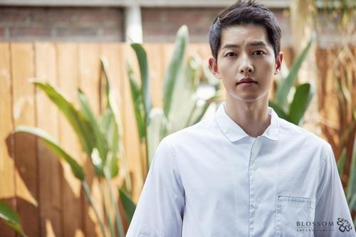 This file photo shows actor Song Joong-ki. (Yonhap)