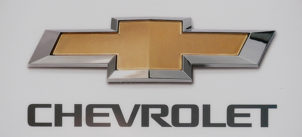 The Chevrolet logo used on cars made by GM Korea (Yonhap)