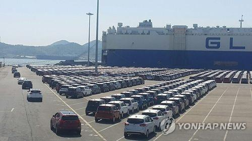 S. Korea's passenger car exports up 18.5 pct in Q4