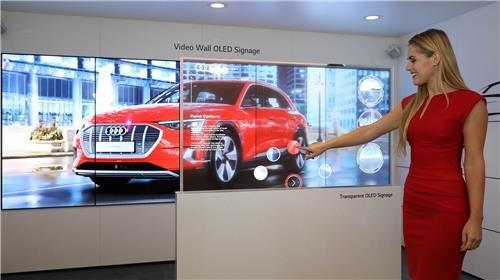 Samsung, LG compete in digital signage products at ISE 2019 - 1