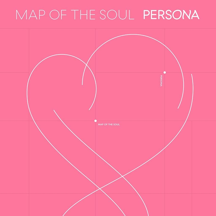 "This image of the cover of ""Map of the Soul: Persona"" is provided by Big Hit Entertainment. (Yonhap)"