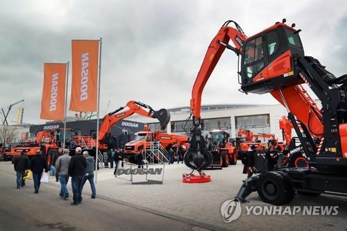 Doosan Infracore eyes 4 pct sales growth in China this year
