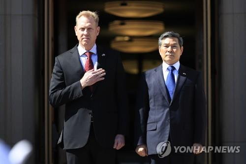 (LEAD) Pentagon chief to visit S. Korea, Japan next month: Kyodo