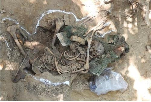 U.N. soldier's body found during war remains excavation in DMZ