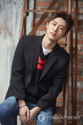 This photo of B.I, former leader of iKON, was provided by YG Entertainment. (PHOTO NOT FOR SALE) (Yonhap)