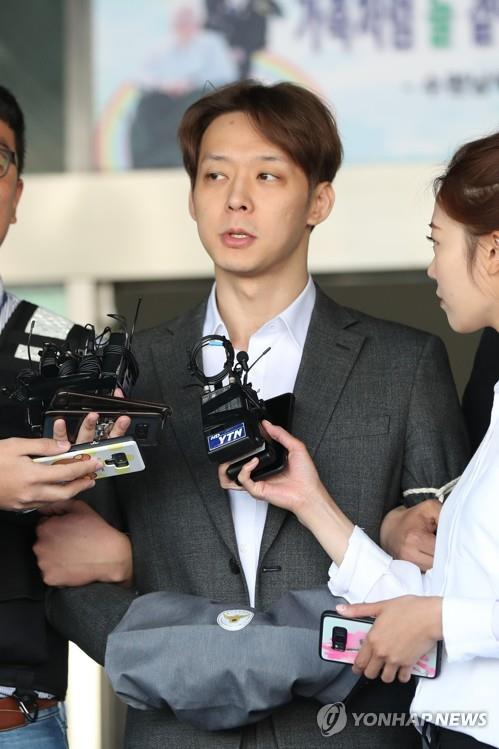 Prosecutors demand prison term for singer-actor Park Yoo-chun