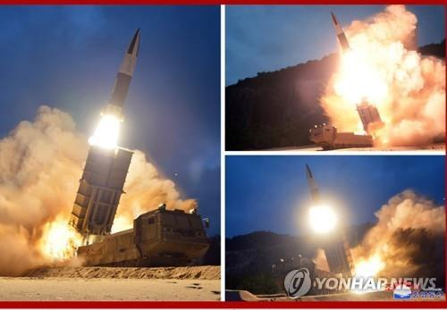 (4th LD) N. Korea fires 2 unidentified projectiles into East Sea: JCS