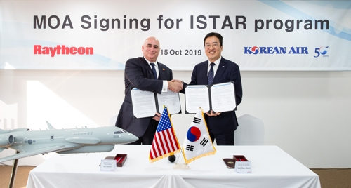 Korean Air joins hands with Raytheon on ISTAR program