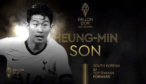 Image result for son heung min ballon d'or