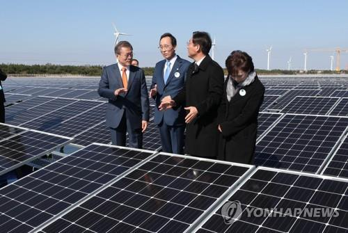 USFK: No objection to S. Korea's Saemangeum solar farm project