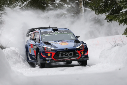 (LEAD) Hyundai takes WRC manufacturers' title this year