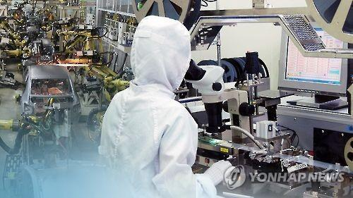 (URGENT) S. Korea's industrial output falls 0.4 pct on-month in October