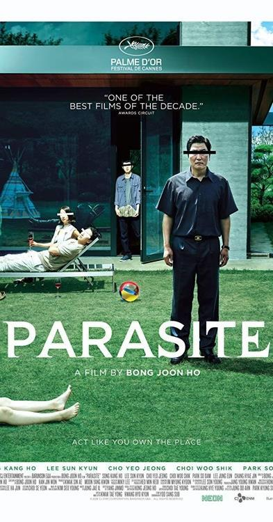 "A poster of ""Parasite"" provided by CJ Entertainment (PHOTO NOT FOR SALE) (Yonhap)"