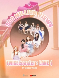 TWICE music video 'TT' hits 500 mln YouTube views