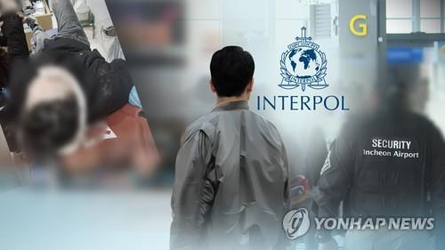 S. Korea requests first Interpol red notice over violator of copyrights