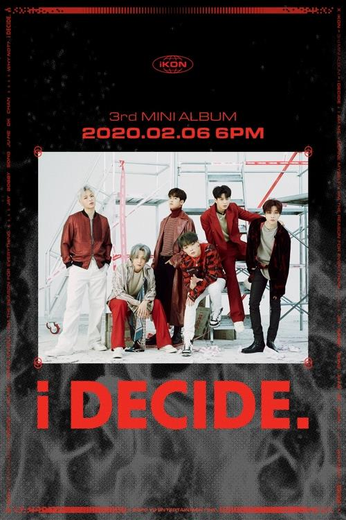 This image of iKON's new album is provided by YG Entertainment. (PHOTO NOT FOR SALE) (Yonhap)
