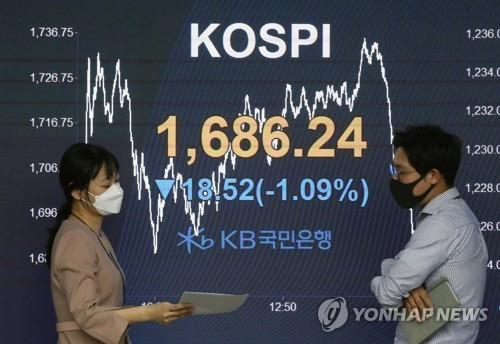 Foreigners extend selling streak to 16th consecutive session