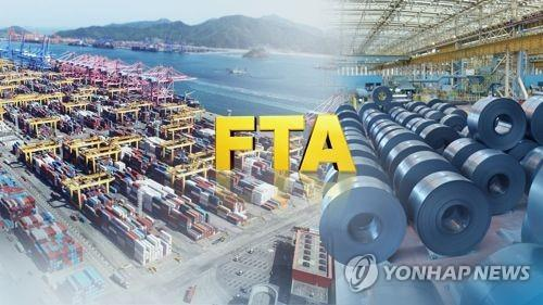 S. Korea logs trade surplus of US$16.4 bln with FTA partners in Q1 - 1