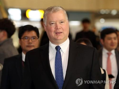 N.K. again rejects possibility of talks with U.S. as Biegun set to arrive in Seoul
