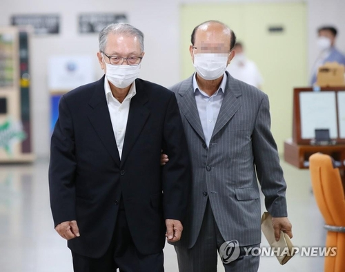 (LEAD) Court maintains ex-presidential aide's suspended prison term for doctoring Sewol ferry sinking report