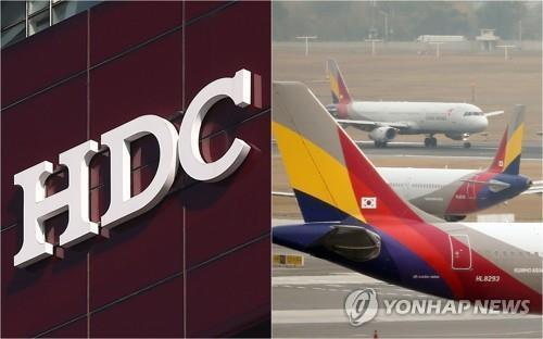 (LEAD) HDC still committed to Asiana takeover, calls for another round of due diligence