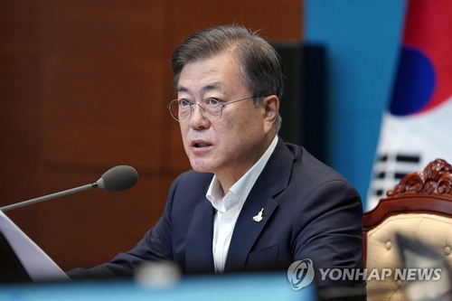 (LEAD) Moon urges efforts to minimize casualties as damage by heavy rain rises