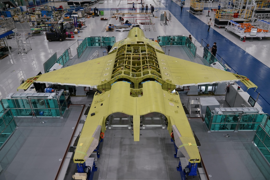 S. Korea begins assembling first prototype of indigenous fighter jet