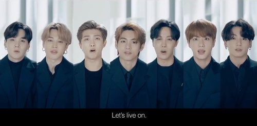 Let's live on: BTS urges the world's youth to persevere in pressing times of COVID-19