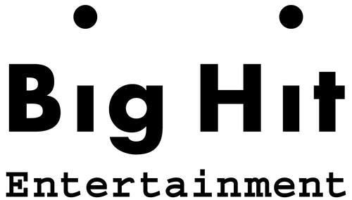This image provided by Big Hit Entertainment shows the company's corporate logo. (PHOTO NOT FOR SALE) (Yonhap)