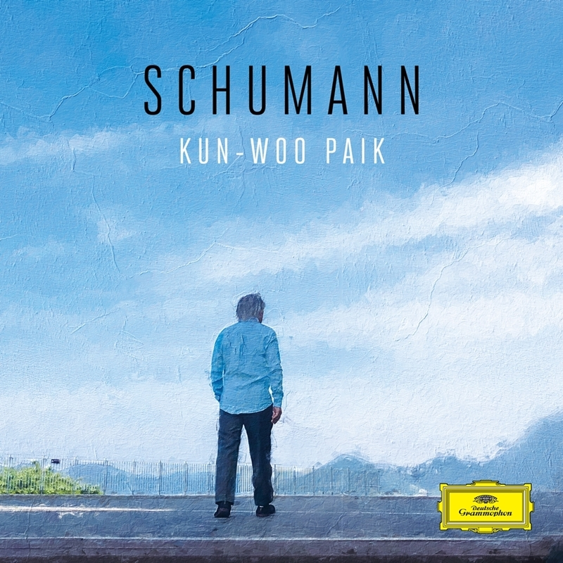 "This image, provided by Universal Music, shows the album cover for pianist Paik Kun-woo's latest album ""Schumann."" (PHOTO NOT FOR SALE) (Yonhap)"