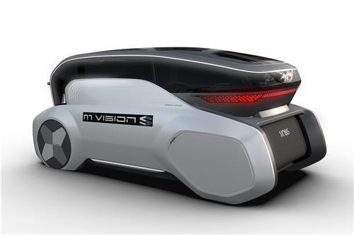 This file photo provided by Hyundai Mobis shows the fully autonomous M.Vision S concept that was to be unveiled at CES in Las Vegas. (PHOTO NOT FOR SALE) (Yonhap)