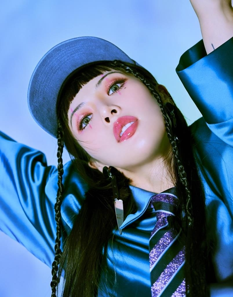 This photo, provided by P Nation, shows K-pop singer HyunA. (PHOTO NOT FOR SALE)(Yonhap)