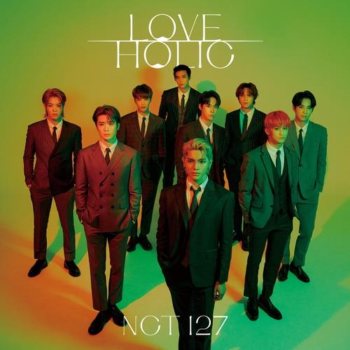 "This photo, provided by SM Entertainment, is a cover image for NCT 127's Japanese EP ""Loveholic,"" released on Feb. 17, 2021. (PHOTO NOT FOR SALE)(Yonhap)"