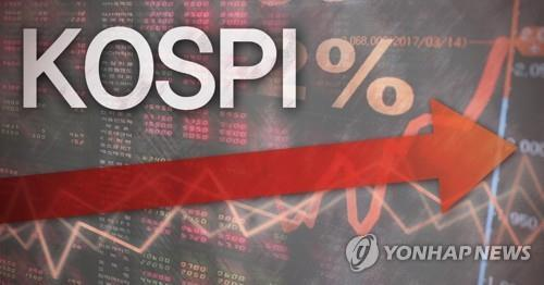 (LEAD) Seoul stocks up for 6th day on global recovery hope - 1