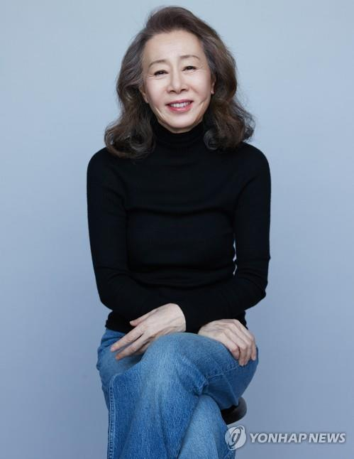 This image provided by Hook Entertainment shows actress Youn Yuh-jung. (PHOTO NOT FOR SALE) (Yonhap)