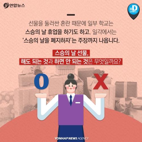 [카드뉴스] 스승의 날 선물, 어떻게 해야 하나요? - 5