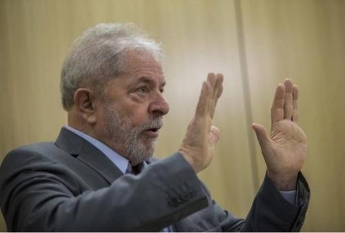 부패 혐의로 수감된 룰라 전 대통령 [브라질 뉴스포털 UOL]